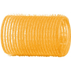 Бигуди-липучки DEWAL желтые, d 32 мм, 12шт/уп R-VTR5