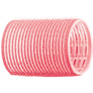 Бигуди-липучки DEWAL, розовые d 44 мм 12 шт/уп R-VTR2