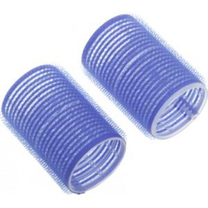 Бигуди-липучки DEWAL, синие d 52 мм 6 шт/уп R-VTR14