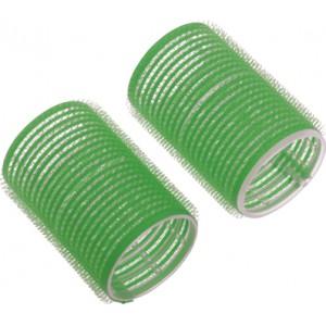 Бигуди-липучки DEWAL зеленые d 61 мм 6 шт/уп R-VTR16