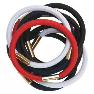 Резинки для волос DEWAL цветные макси 10 шт/уп RE020