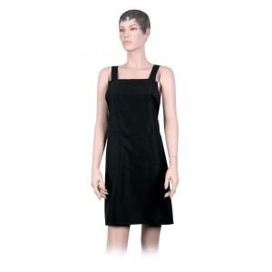 Фартук мастера DEWAL для стрижки мужской полиэстер черный 74*78,5 см BP29015