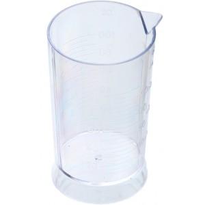 Стакан DEWAL мерный прозрачный с носиком 100 мл Т-1251