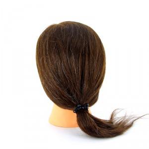 """Голова учебная DEWAL """"шатенка"""", натуральные волосы 30-40см М-2023М-6"""