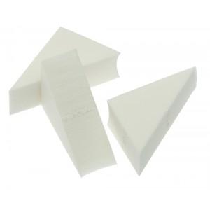 Губка макияжная DEWAL треугольная 1 штука