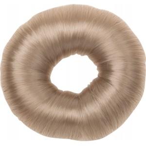 Валик для прически DEWAL круглый блондин  искусственный волос НО-5115 Blond