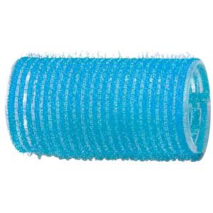Бигуди-липучки DEWAL голубые d 28 мм, 12шт/уп R-VTR6