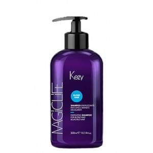 Шампунь укрепляющий для светлых и обесцвеченных волос 300 мл 95000  Kezy