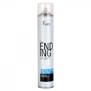 Спрей-лак надежной фиксации 500мл  Kezy Ending Glossy Finishing Spray Firm Hold  10024