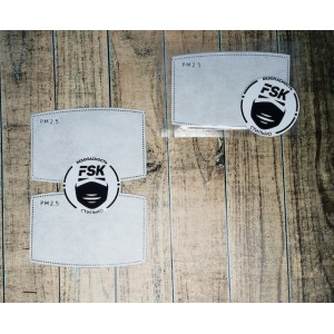Сменный угольный фильтр FSK комплект 2 ШТ.
