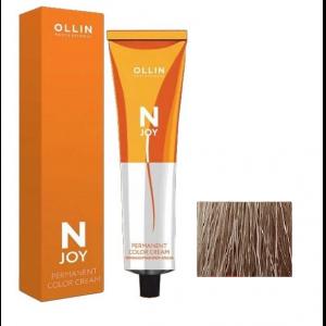 """10/73 светлый блондин коричнево-золотистый, перманентная крем-краска для волос 100мл OLLIN """"N-JOY"""""""