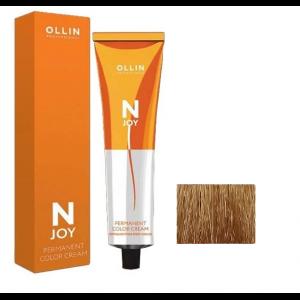 """9/30 – блондин золотистый, перманентная крем-краска для волос 100мл OLLIN """"N-JOY"""""""