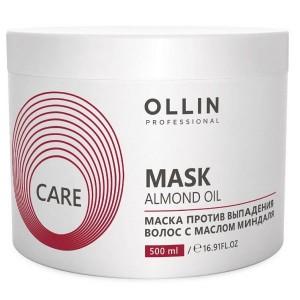 Маска против выпадения волос с маслом миндаля 500 мл OLLIN CARE 395577