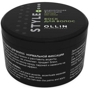 Воск для волос нормальной фиксации 50 г (75 мл) OLLIN STYLE  721159