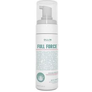 Мусс-пилинг для волос и кожи головы с алоэ 160 мл  OLLIN FULL FORCE  725652