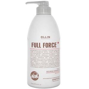 Шампунь интенсивный  с маслом кокоса 750 мл. OLLIN FULL FORCE  725799