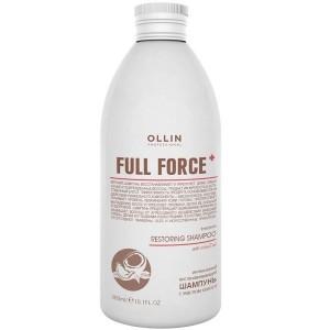 Шампунь восстанав. интенсивный с маслом кокоса 300 мл. OLLIN FULL FORCE  725805