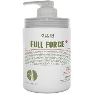 Маска для волос и кожи головы с экстрактом бамбука 650 мл. OLLIN FULL FORCE  725621