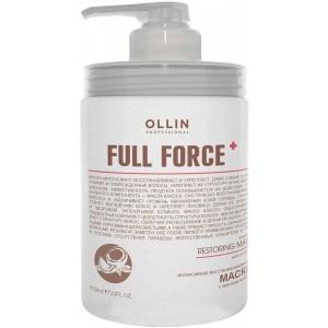 Маска восстанав. интенсивная с маслом кокоса 650 мл. OLLIN FULL FORCE  725775