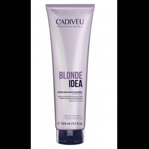 СКИДКА Маска тонирующая 150мл Blonde Idea Blonde Balance Mask