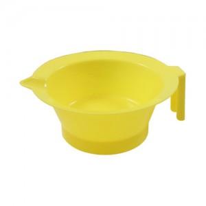 Чаша для красителя пластик с носиком 250 мл , желтая арт.HS42750 МЕЛОН ПРОФЕШНЛ