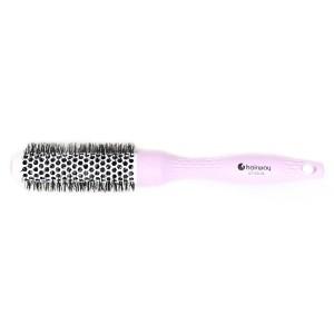 Термобрашинг Hairway ECO, D-25мм розовый (Золингер) 07155-06