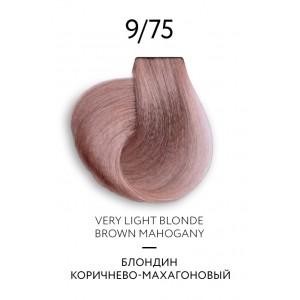 Крем-краска для волос перманентная OLLIN COLOR Platinum Collection 9/75 100 мл 771126