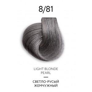 Крем-краска для волос перманентная OLLIN COLOR Platinum Collection 8/81 100 мл 771249