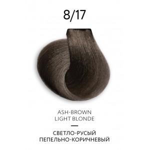 Крем-краска для волос перманентная OLLIN COLOR Platinum Collection 8/17 100 мл 771225