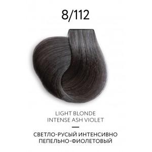 Крем-краска для волос перманентная OLLIN COLOR Platinum Collection 8/112 100 мл 771201