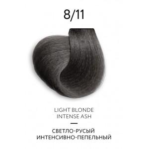 Крем-краска для волос перманентная OLLIN COLOR Platinum Collection 8/11 100 мл 771140