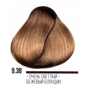 9.38 очень светлый бежевый блондин 100мл AAA9.38