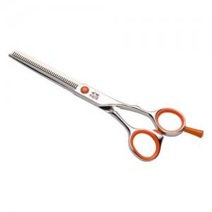 Парикмахерские ножницы TAYO ORANGE  филировочные 40 зубцов 6,0 TQ10460S