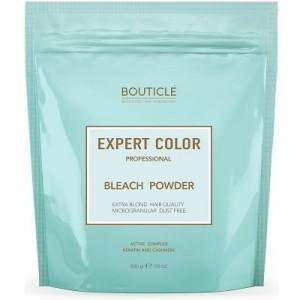 "Обесцвечивающая пудра с кератином и кашемиром - ""BOUTICLE Expert Color Power Bleach"" - 500 гр"