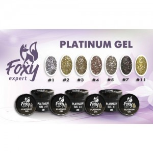 Платинум гель (Platinum gel) 2, 5ml FOXY expert
