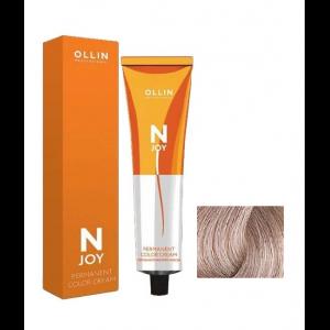 """9/12 - блондин пепельно-фиолетовый, перманентная крем-краска для волос 100мл OLLIN """"N-JOY"""""""