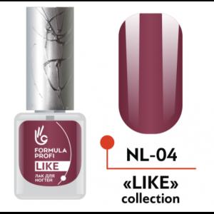 Лак для ногтей 40 Like 5мл NL-40 Формула Профи