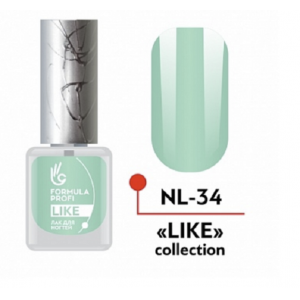 Лак для ногтей 34 Like 5мл NL-34 Формула Профи