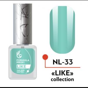 Лак для ногтей 33 Like 5мл NL-33 Формула Профи