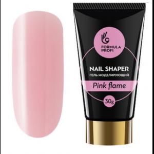 "Гель моделирующий ""NAIL SHAPER"" Pink flame 30 гр 5473 Формула Профи"