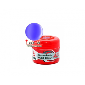 "4D 03 голубая лагуна 5 гр ""ART LINE"" 658-03"
