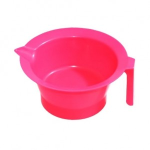 Чаша для красителя пластик с носиком розовая 250 мл , арт.HS42740 МЕЛОН ПРОФЕШНЛ