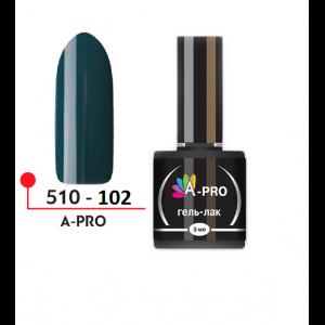 """Гель-лак """"A-PRO"""" №102, 5 мл 510-102"""