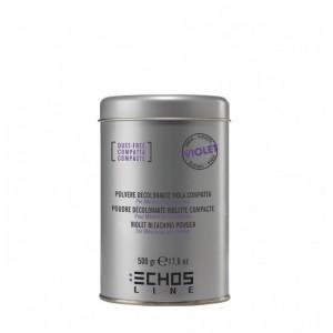 Осветляющий беспыльный порошок с фиолетовыми гранулами 20 гр 20746 ECHOSCOLOR