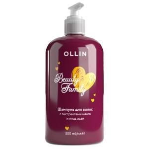 Шампунь для волос с экстрактами манго и ягод асаи 500мл 771492