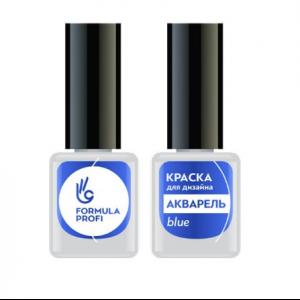 """Краска для дизайна """"Акварель"""" blue Формула Профи"""