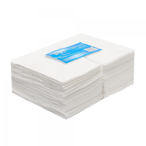 Салфетки 20*30 спанлейс белый White line (№100шт) 6886