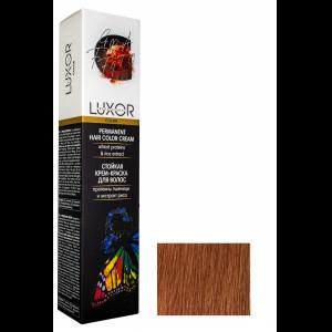 8.430 Светлый блондин интенсивный медный золотистый Стойкая крем-краска LUXOR Professional 100 мл.