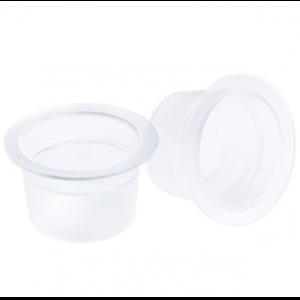 Емкость (капса) для тату краски пластиковая, размер S, 90-100шт Р664-10 IRISK