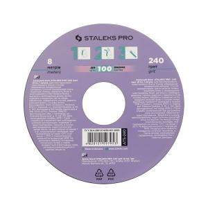 Запасной блок файл-ленты для пластиковой катушки STALEKS PRO 240 грит (8 м) ATS-240 (СТАЛЕКС)